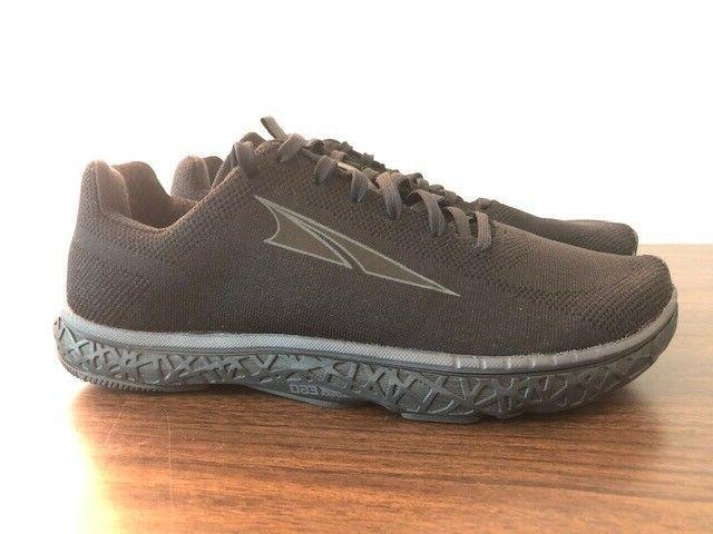 Altra Mens Black/Black Running Size 9- New