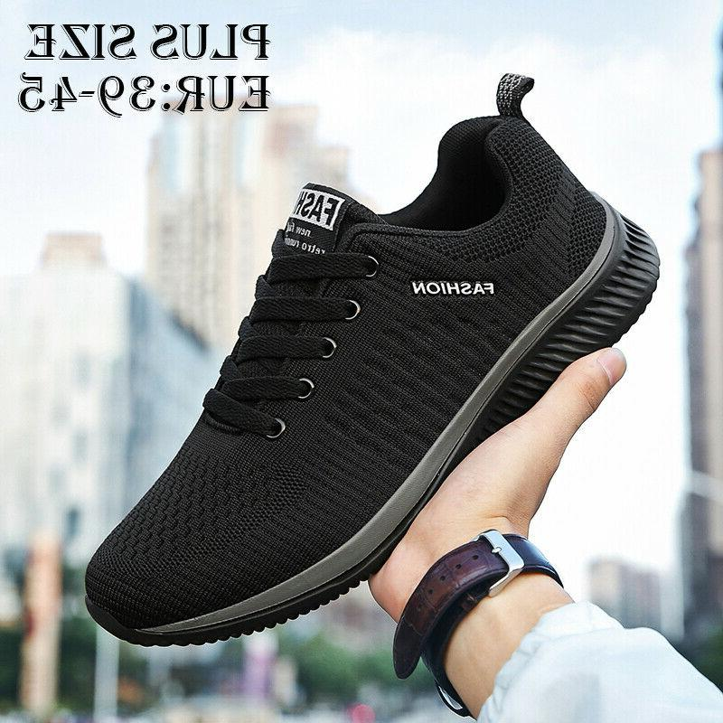 mens walking running shoes 10 breathable gym