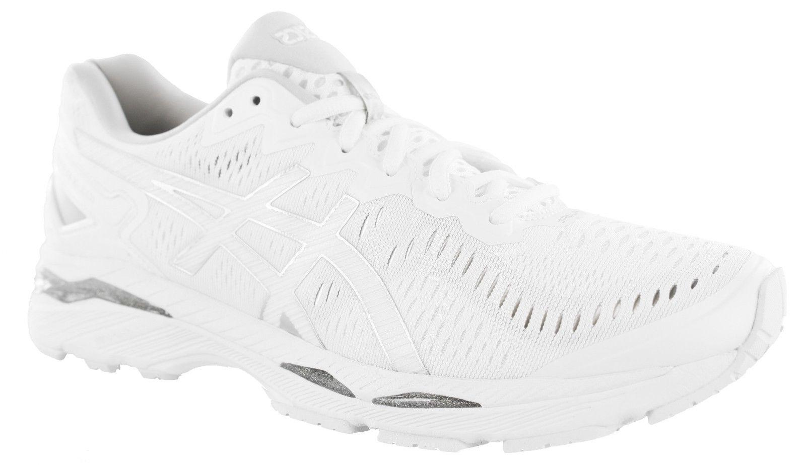 ASICS MENS GEL KAYANO 23 T737N 0100 RUNNING SHOES WHITE