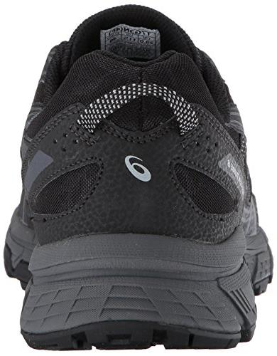 ASICS Mens Running Shoe, Black/Phantom/Mid 10.5