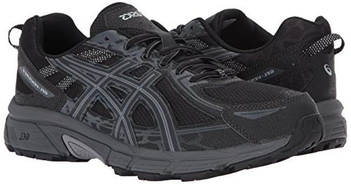 ASICS Mens Running Black/Phantom/Mid 10.5
