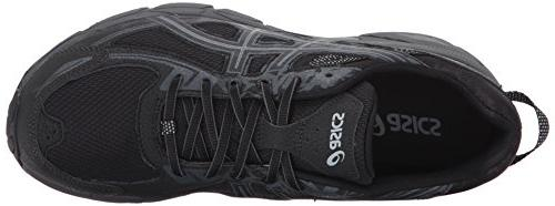 ASICS Mens Running Black/Phantom/Mid 10.5 D US