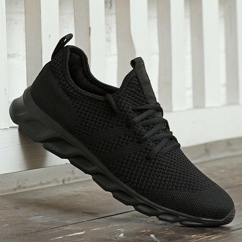 Mens Fashion Shoes Jogging Sneakers Breathable