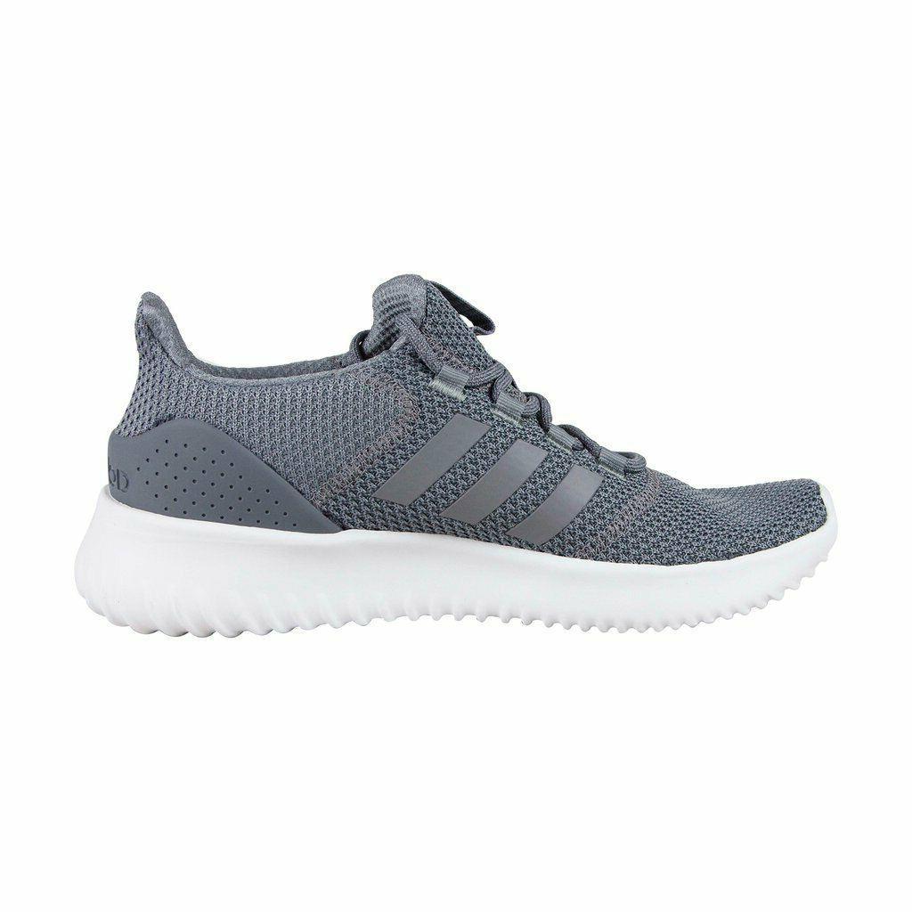 mens neo cloudfoam ultimate grey sneaker athletic