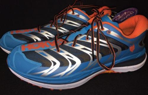 HOKA ONE ONE Mens SPEEDGOAT Blue Red Orange RUNNING Tennis T