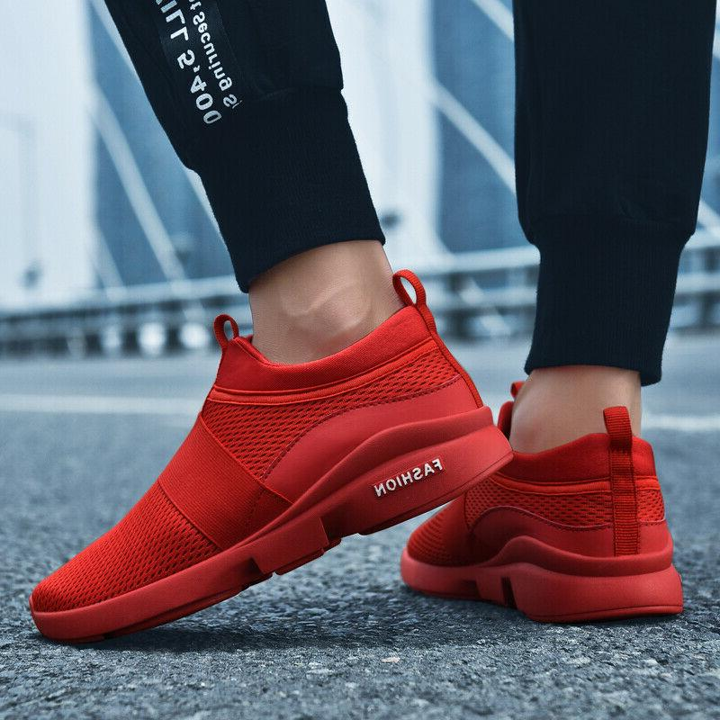 Mens Athletic Sneakers Outdoor Trainers Sports Shoes