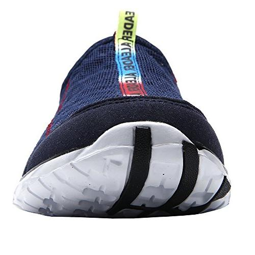 Aleader Women's Mesh On Water Shoes Navy 6