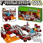 MINECRAFT LEGO THE NETHER RAILWAY 21130 - 387 pcs Kids Toy G