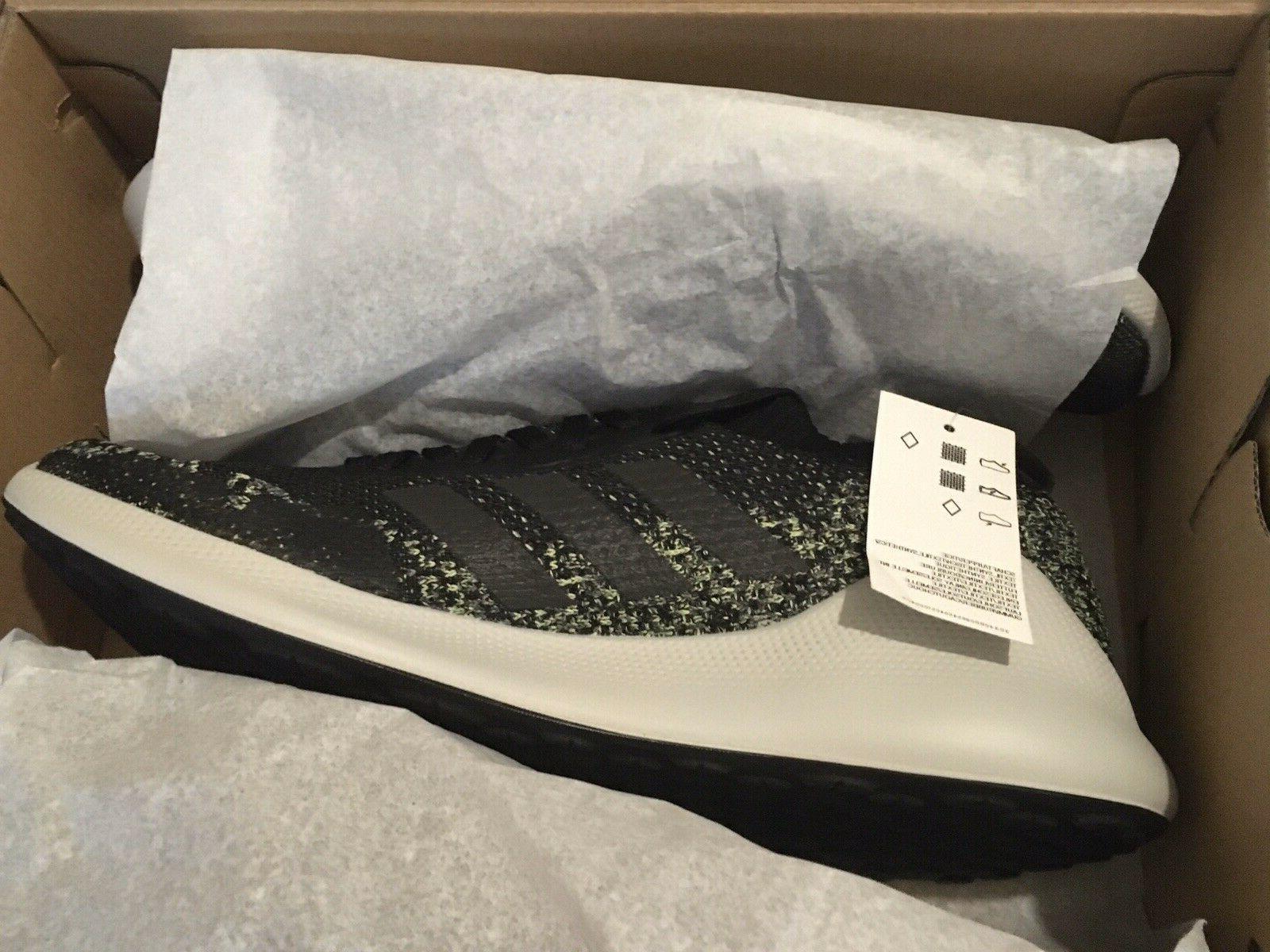 NEW Adidas Purebounce+ M Running Shoes Black/Green