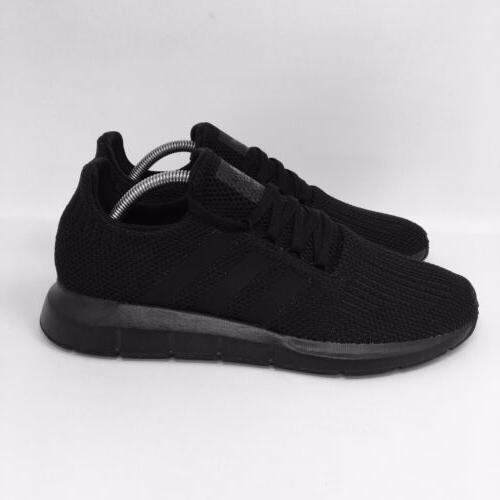 *NEW* Swift Run Men's All Black Athletic Sneakers