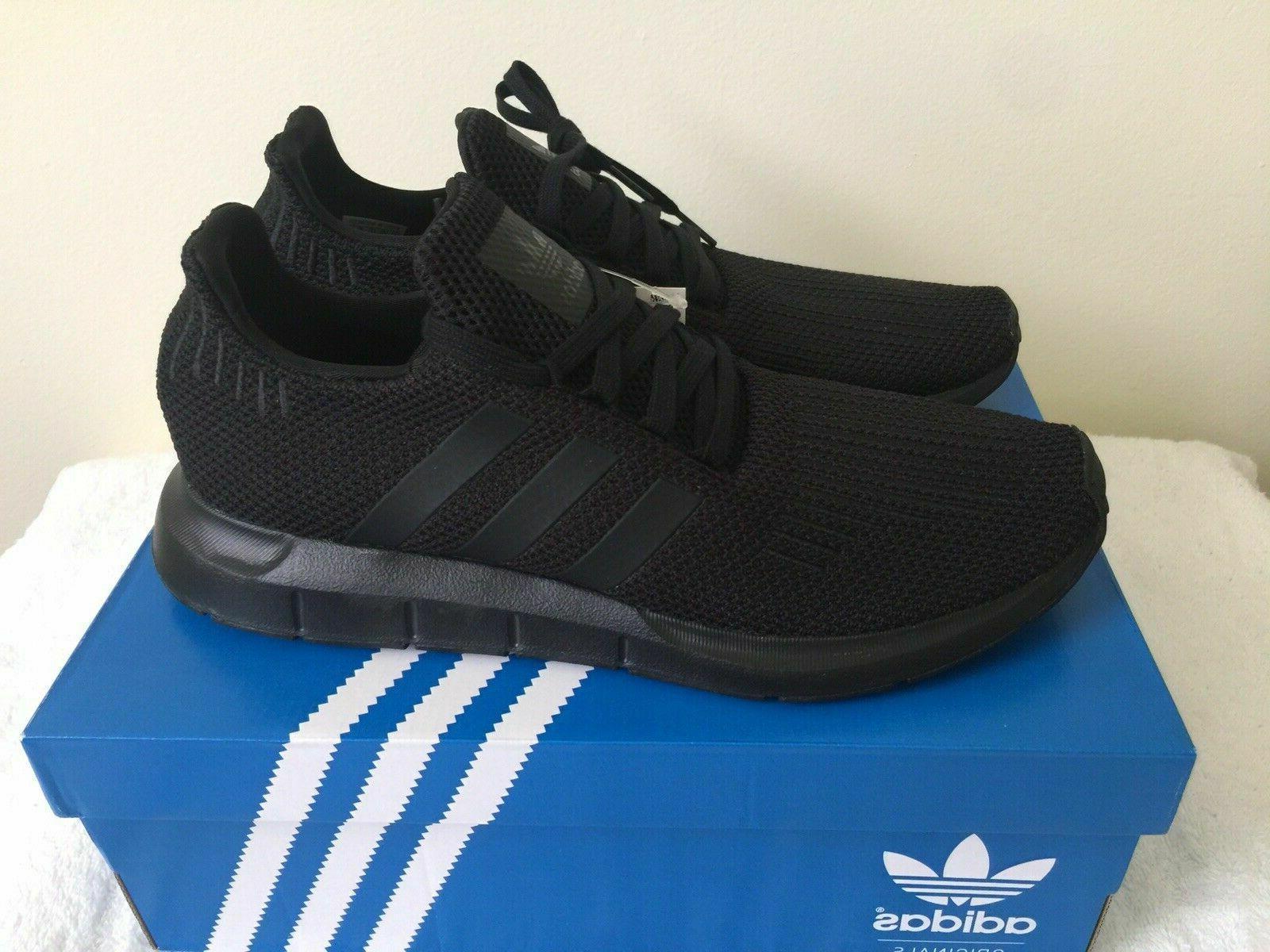 new originals swift run shoe triple black