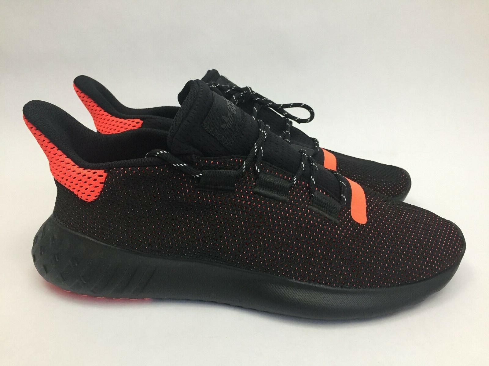 New Adidas Dusk Size 12 Black Red AQ1189