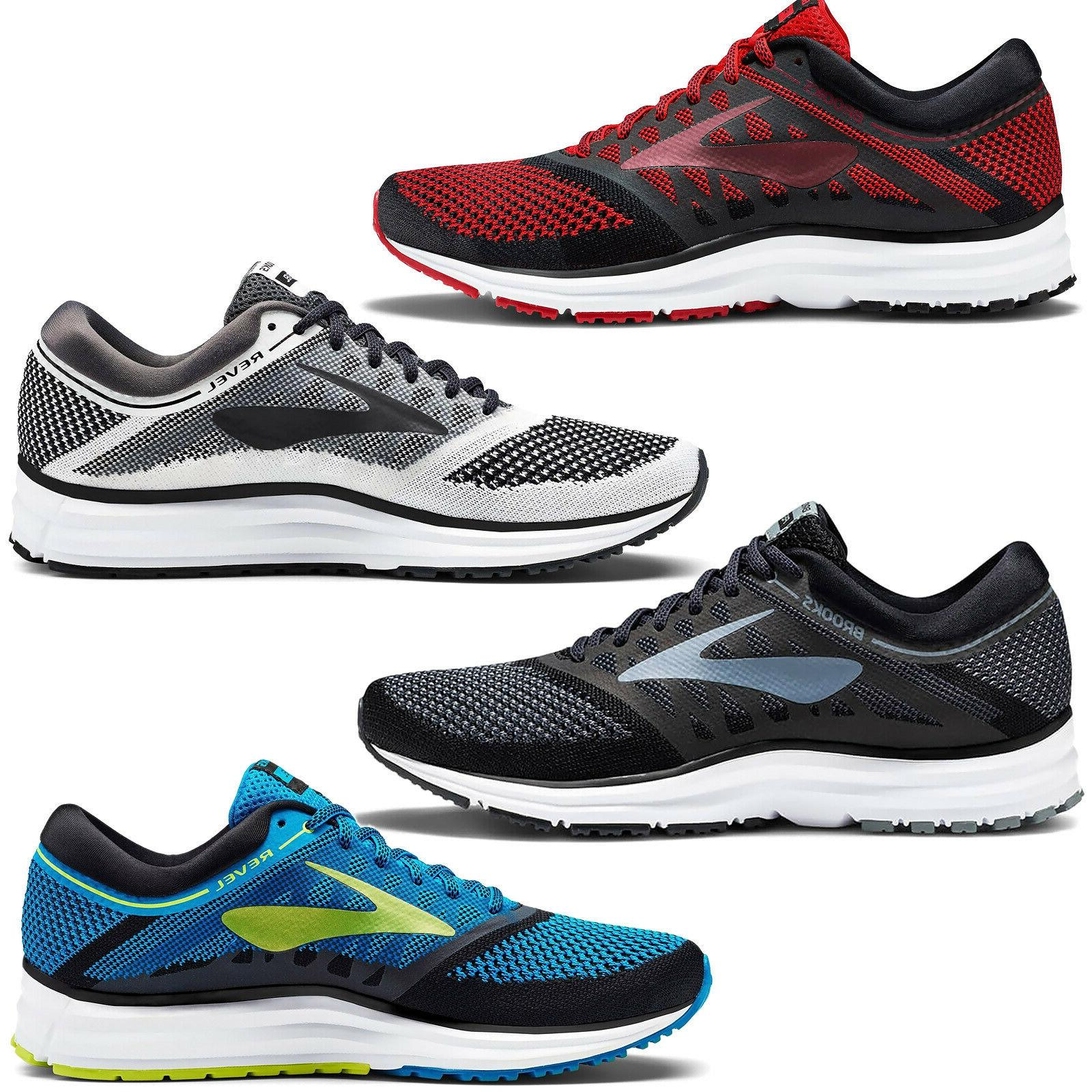new revel mens knit road running shoes