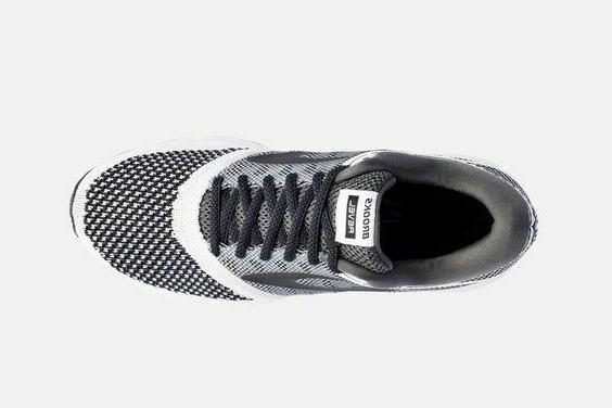 Brooks White/Black Road Shoes: 9, 9.5, 11.5