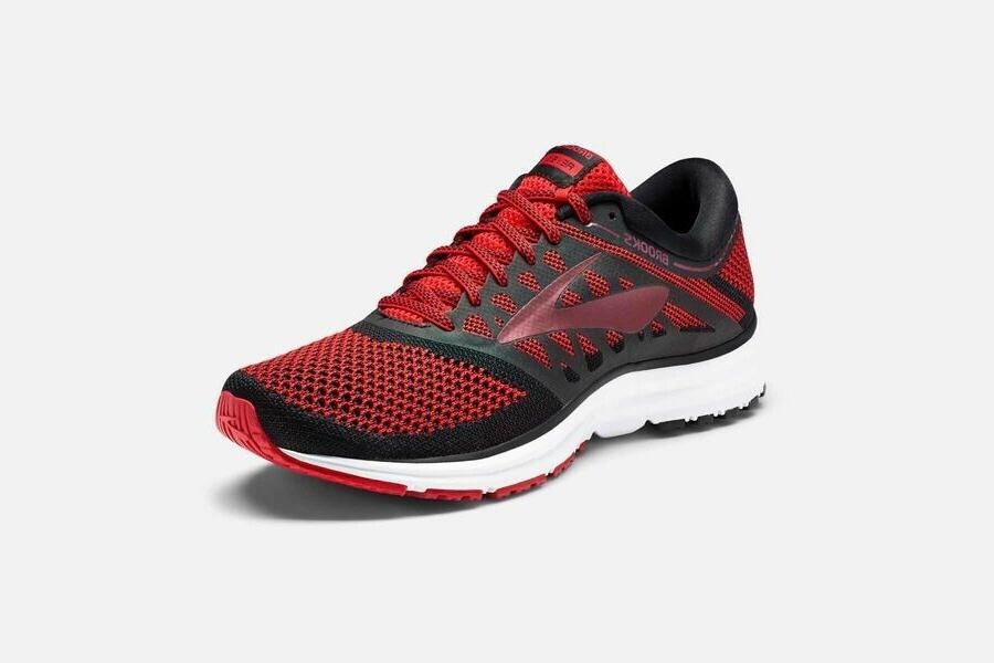 NEW Brooks Revel Red Shoes 11.5,