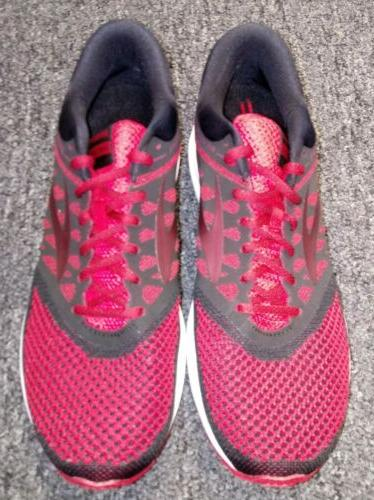 NEW Brooks Shoes Red/Black 1102601D669 Size