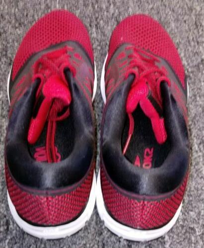 NEW Brooks Revel Running Shoes Red/Black Size