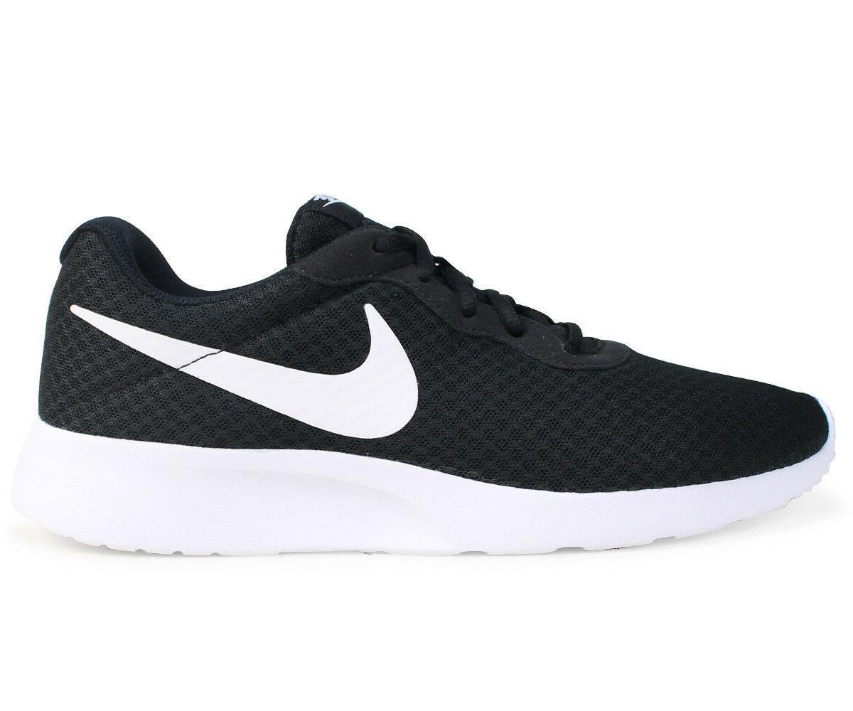 New Nike Tanjun 812654-011 Black Running Shoes Men