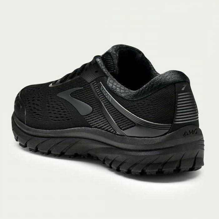 NIB MEN BROOKS 026 BLACK RUNNING SHOE WIDE 4E