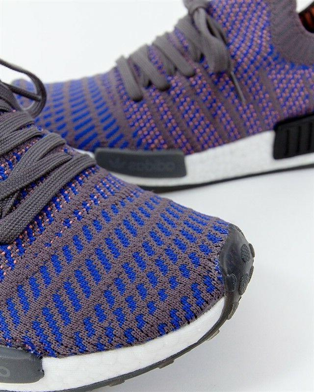 NIB ADIDAS MEN'S SHOES NMD R1 BLUE BLACK CORAL ALL SIZES CQ2388