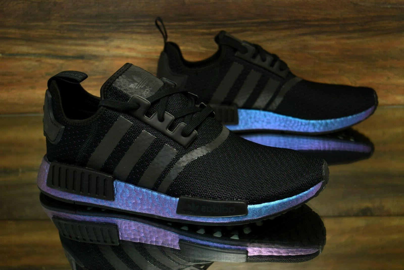 "Adidas NMD R1 ""Goodbye Gravity"" Black FV3645 Running Shoes M"