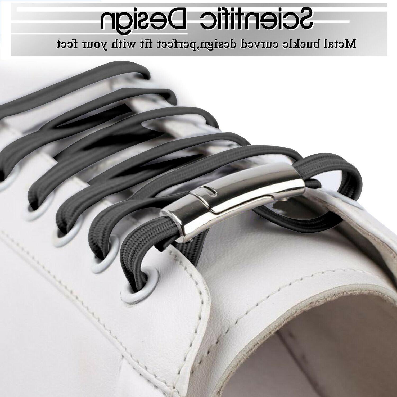 No Tie Magnet Buckle Shoe Running Kids