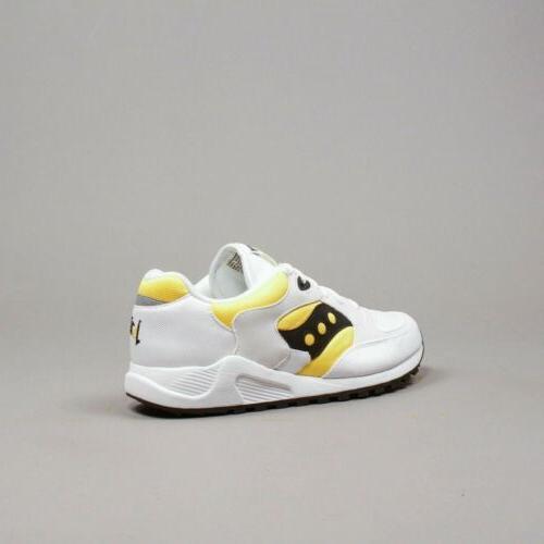 Saucony Originals Men 4000 White Yellow OG S70487-3