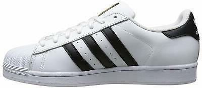 adidas Originals Men's Running Shoe, White/Black/White, 20.0