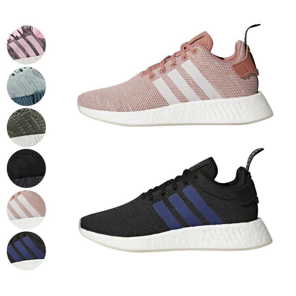 Adidas Originals NMD R2 Primeknit Boost Women Shoes BY8691 C