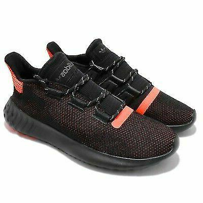 Adidas Originals Tubular Dusk Mens Casual Shoes Black/Solar
