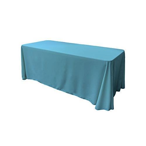 polyester poplin rectangular tablecloth