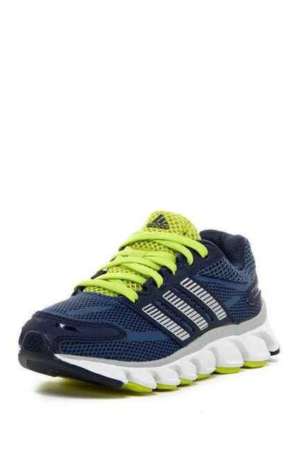 Adidas Powerblaze K Navy/Yellow Youth Boys Running Shoes SNE