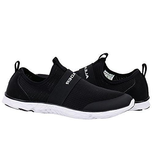 ALEADER Men's Aqua Water Shoes 11 D US