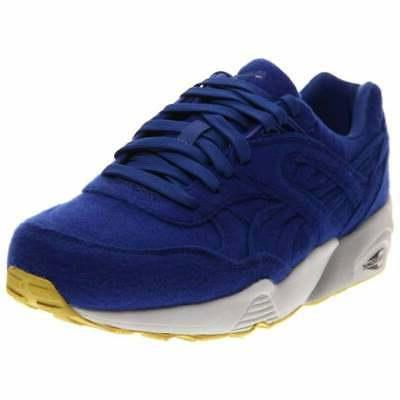 r698 bright casual running shoes blue mens