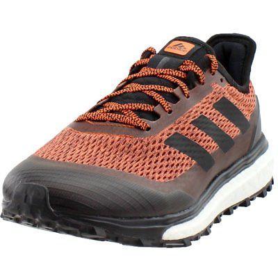 response trail trail running shoes orange mens