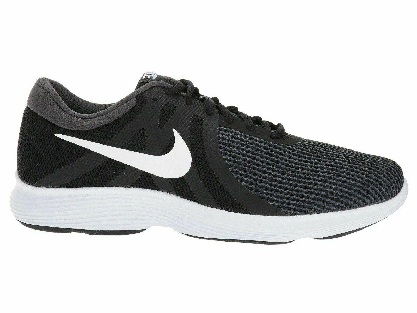 Nike Revolution Shoes Black White 908988-001 Men's NEW