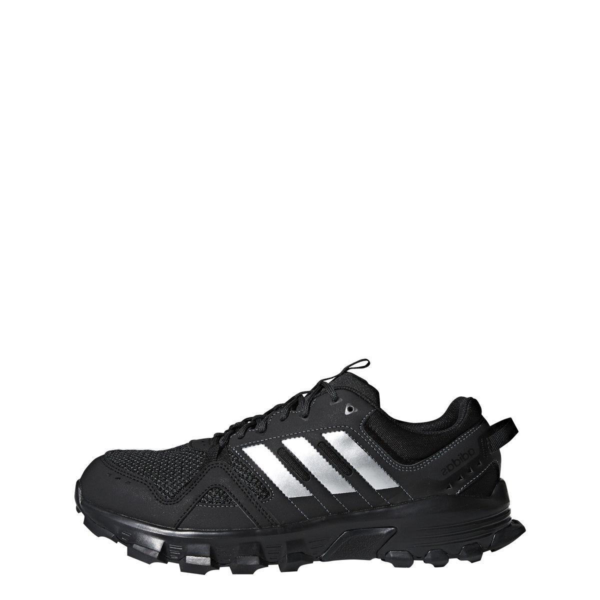 mens rockadia trail black sport athletic running