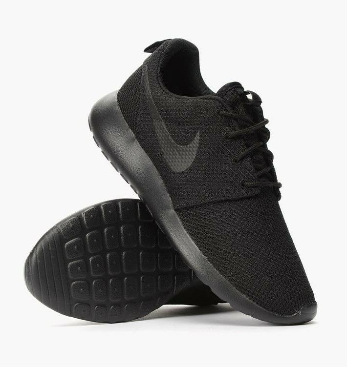 Nike Roshe One Black Black Running Shoes For Men's New In Bo