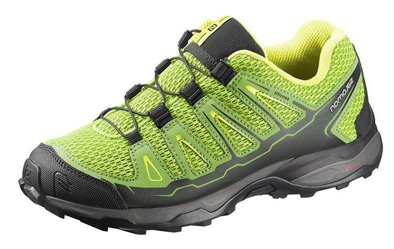 Running Shoes Childrens Trainers Salomon X-Ultra K,Yellow/Gr