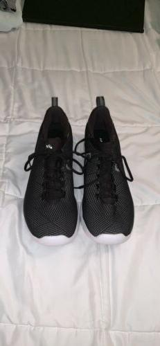 ASICS RUNNING SHOES SIZE 9.5 BLACK GREAT CONDITION. -TYPE- G