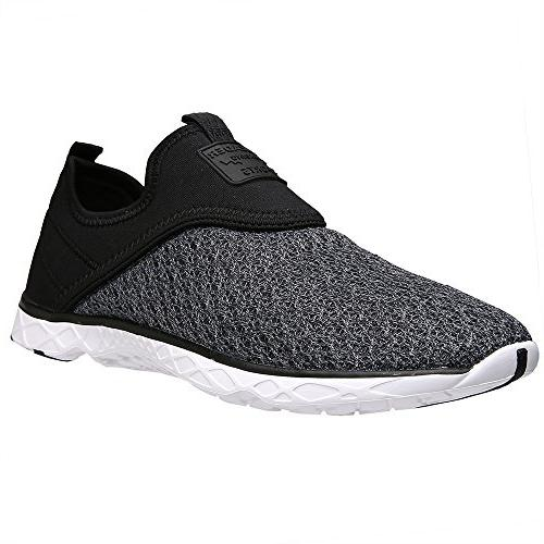 ALEADER Men's Water Shoes D US
