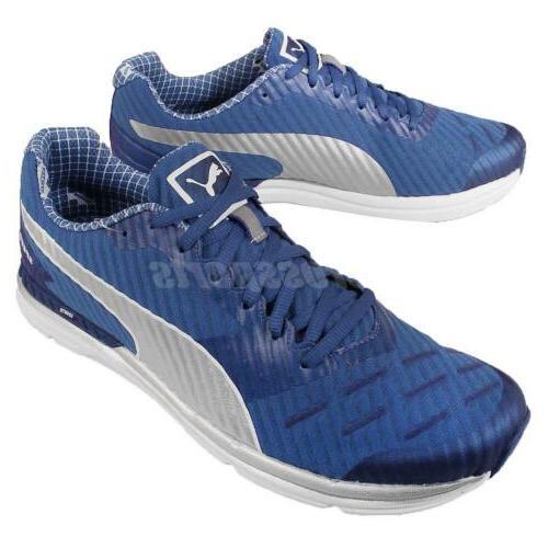 Puma Speed 300 Ignite Pwrcool Blue Silver Powercool Mens Run