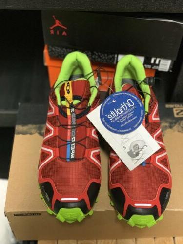 Salomon Mens Shoes Red 10.5