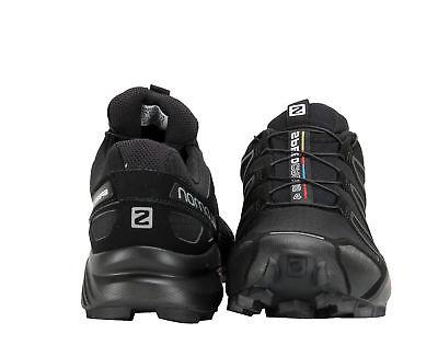 Salomon Speedcross Black/Black Metallic Trail