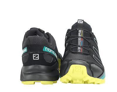 Salomon Speedcross 4 Black/Everglade/Sulphur Men's 392398