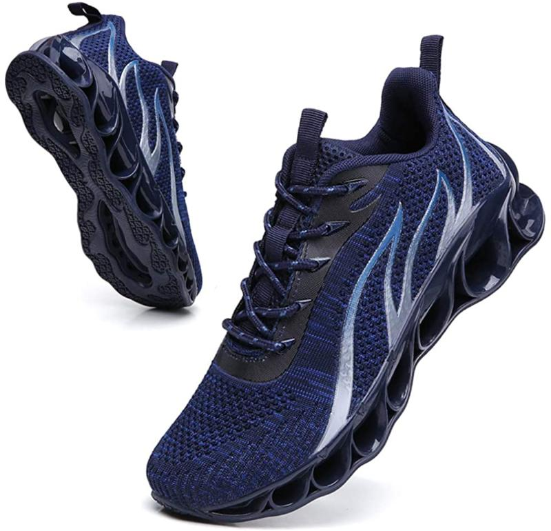 sport running shoes for mens mesh breathable