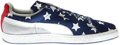 Puma Suede RWB Shoes Blue - Mens
