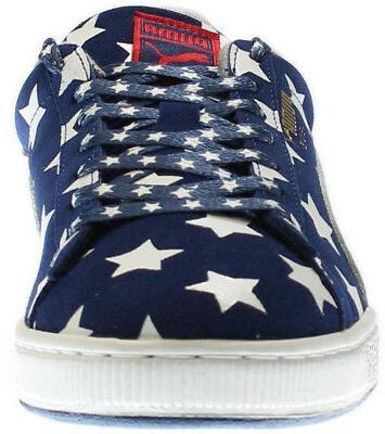 Puma Shoes Blue Mens