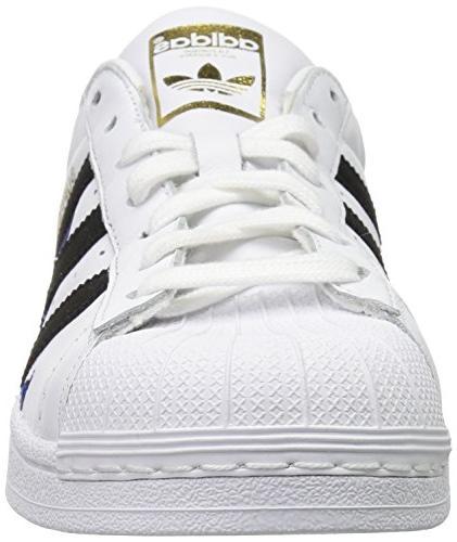 Shoes White/Black/Gold 7.5 US
