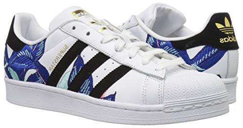 adidas Originals Shoes White/Black/Gold 7.5 M US